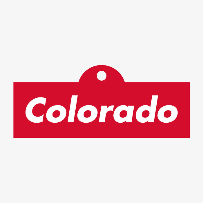Colorado Skate Bumper Sticker