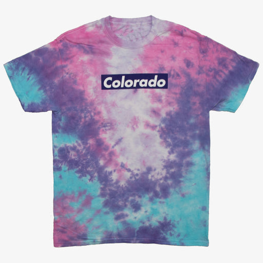 Aksels Cotton Candy Tie-Dye T-Shirt