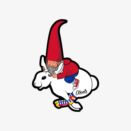 Aksels Gnome Racer Sticker