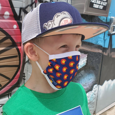 Aksels Colorado C Kids Face Mask