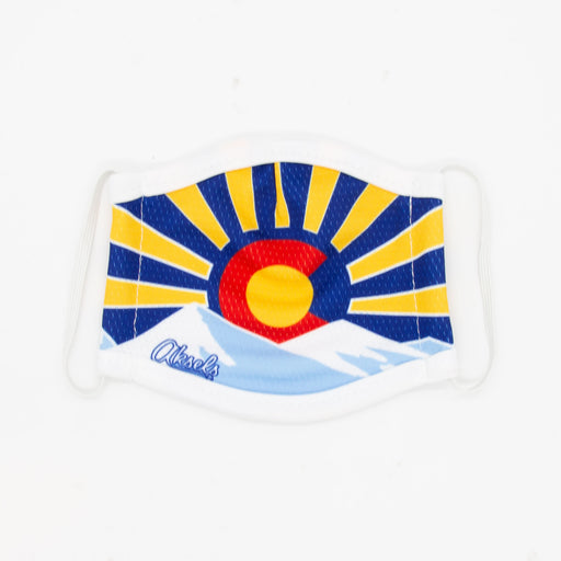 Aksels Colorado Sunset Kids Face Mask