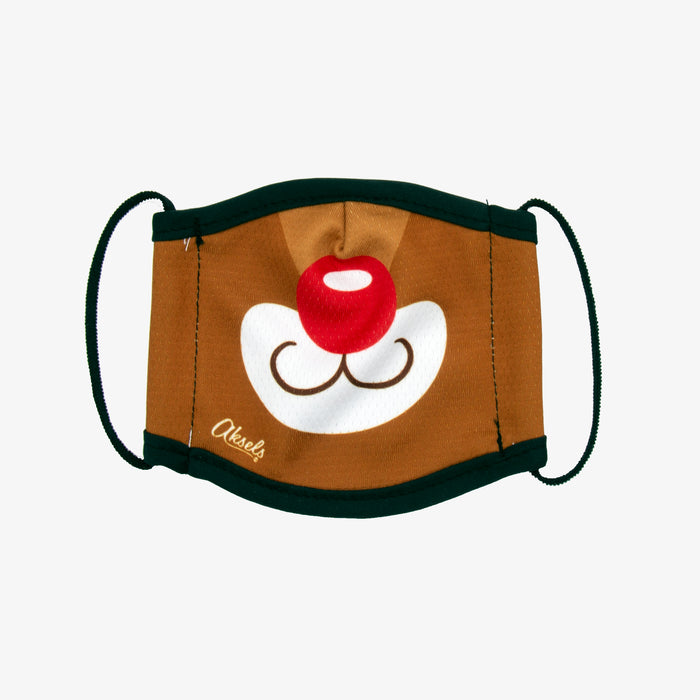 Aksels Rudolph The Red Nose Reindeer Kids Face Mask