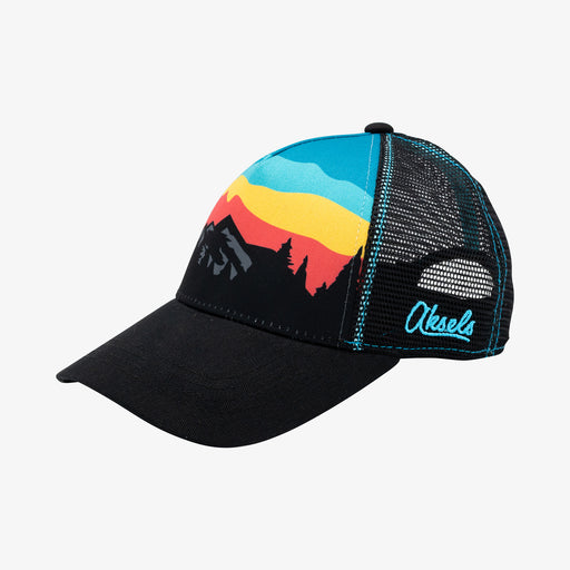 Aksels Low Pro Mountain Landscape Trucker Hat