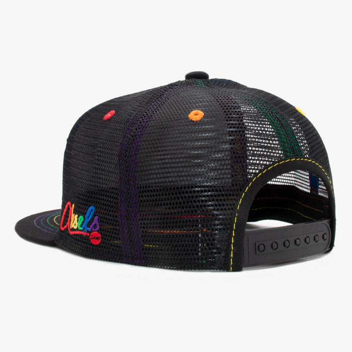 Aksels Nuggs Rainbow Trucker Hat