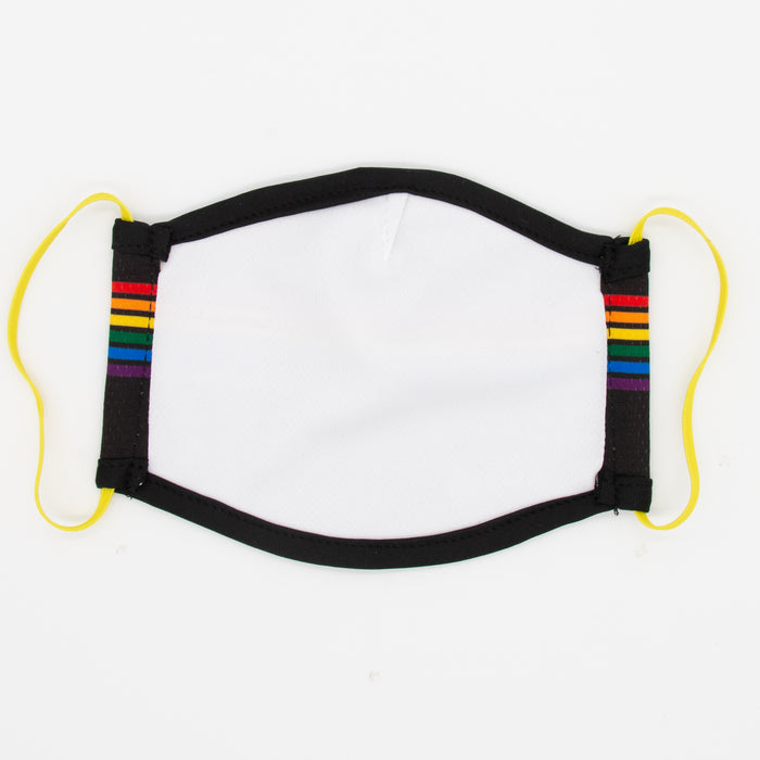 Aksels Pride Stripes Face Masks