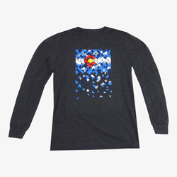 CO Scatter Men's Long Sleeve Tee