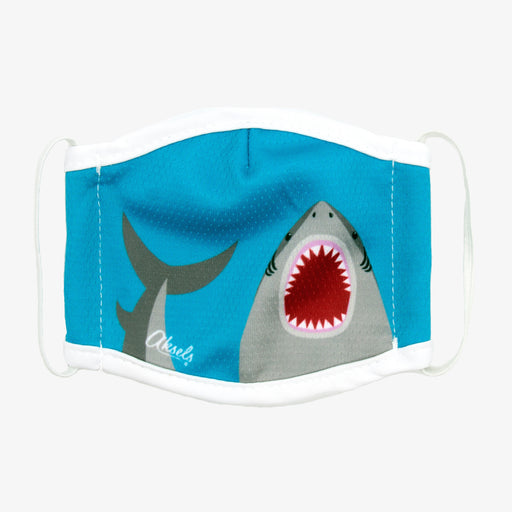 Aksels Kids Great White Shark Face Mask