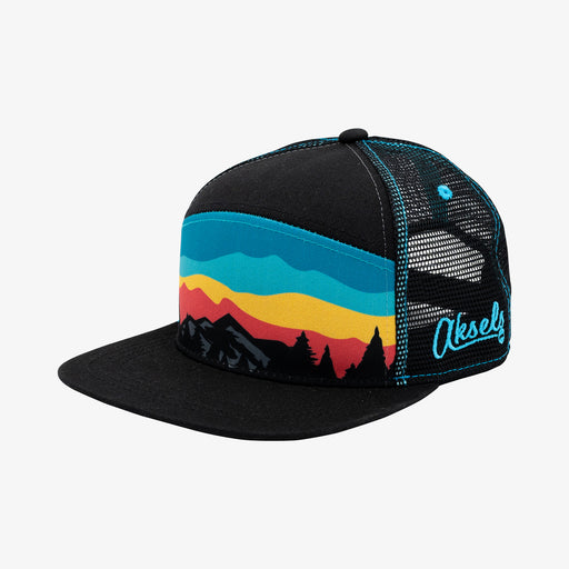 Aksels Mountain Landscape Trucker Hat