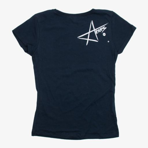 Aksels Girls Colorado Sunset T-Shirt - Navy