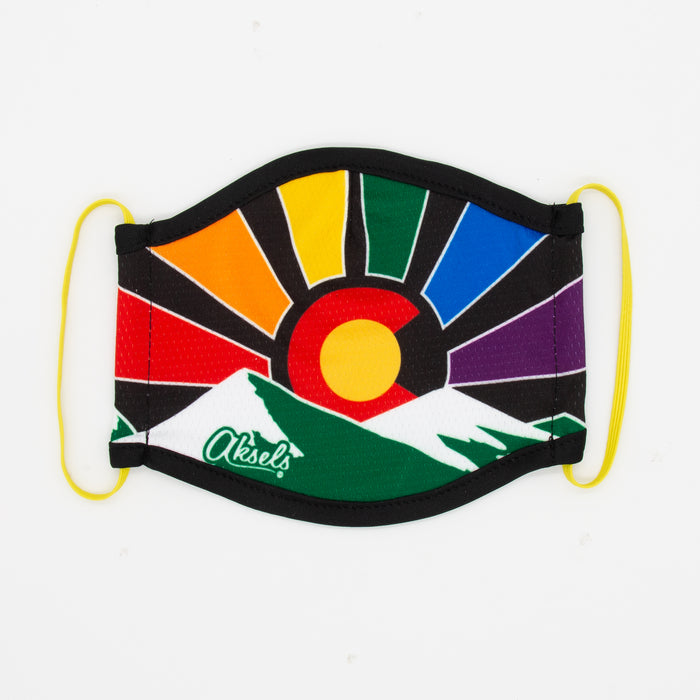 Aksels Colorado Sunset Rainbow Mask