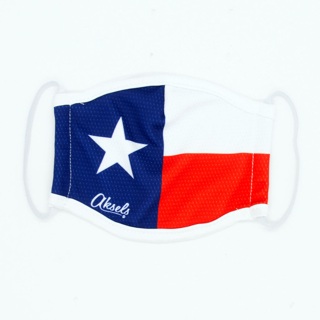 Aksels Texas Flag Face Mask
