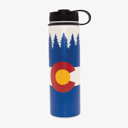 Aksels Colorado Flag Water Bottle
