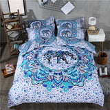 3D Skull Bedding Set Black and White Duvet Cover Queen Size 3/4pcs Big Skull Bed Sheet Cotton Blend Soft Material Bed Cover