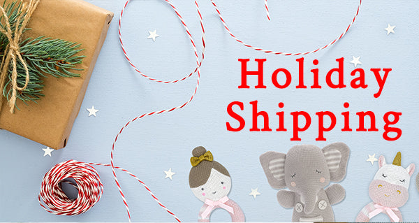 Holiday Season Shipping and Closures