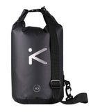 ROVER Dry Bag - Lightweight Durable Black Dry Sack