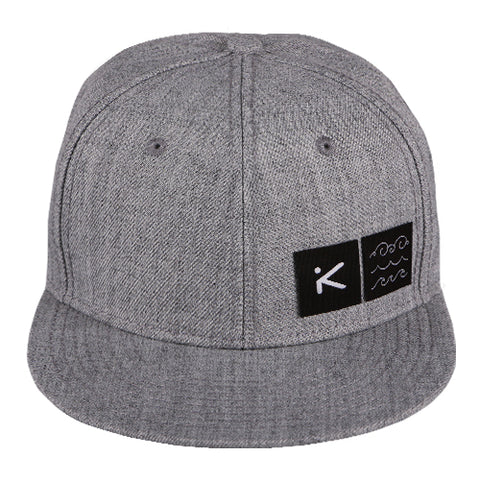 HERITAGE Heather Grey Hat Snapback