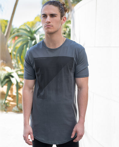 Astrneme State of Mind Cool Grey Tee