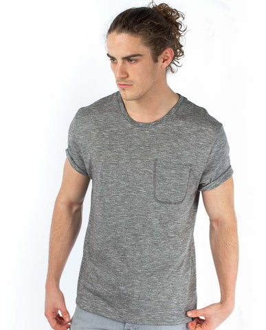 Astrneme Kobe Charcoal Pocket Tee