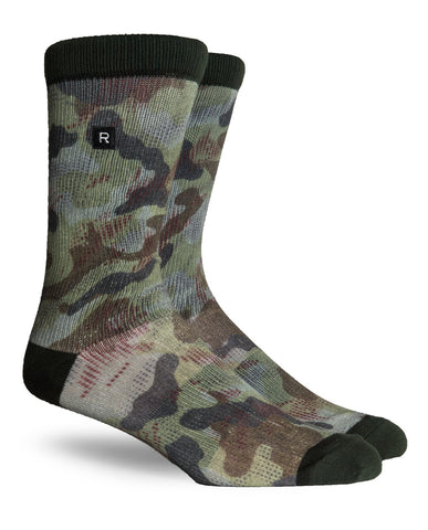 Terrain Athletic Socks Olive
