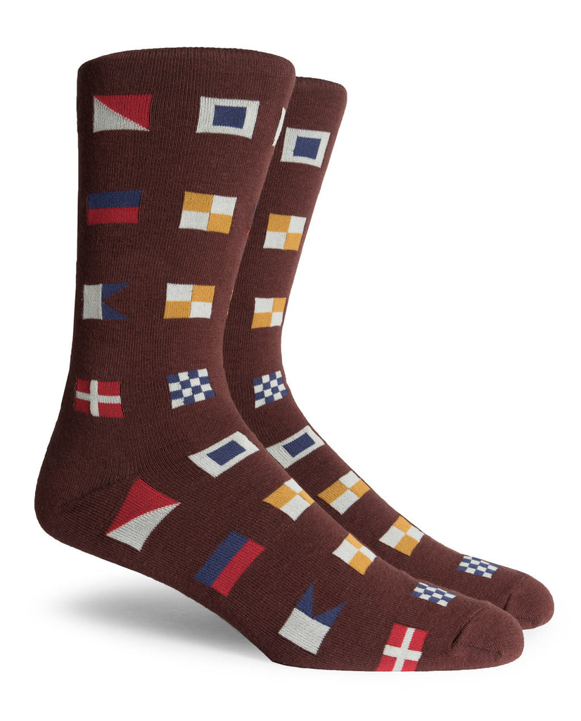 Longshore Crew Socks Brown