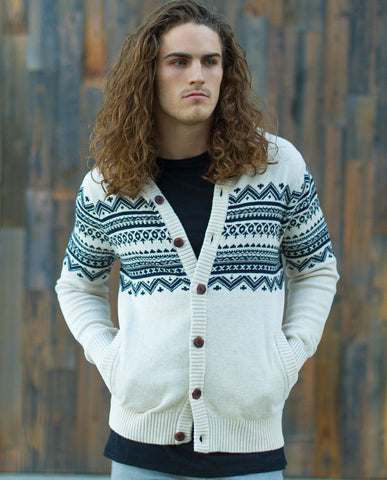 Rose Pistol Baja Hooded Cardigan