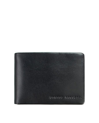 Status Anxiety Jonah Wallet Black