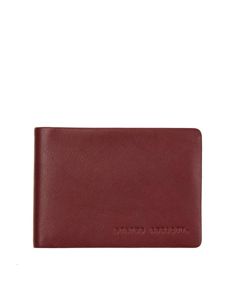 Status Anxiety Jonah Wallet Cognac