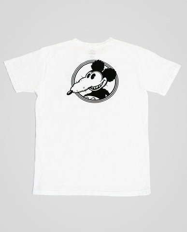 Altru Mickey Rat Graphic Tee White
