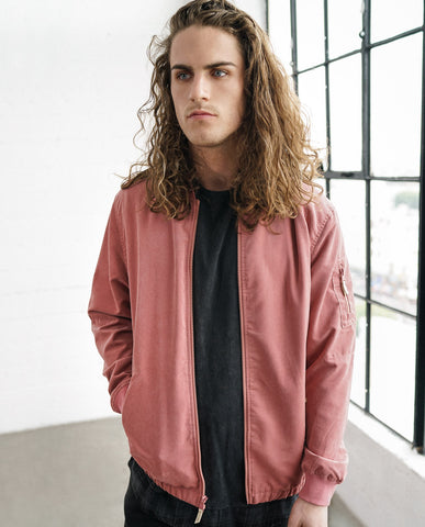 Astrneme Badlands Bomber Jacket Senegal Rose