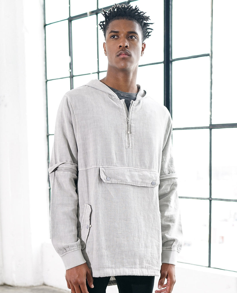 Astrneme Bombay Linen Pullover Jacket