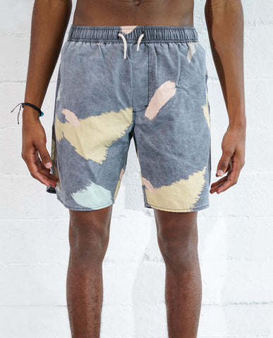 Astrneme EasyDoesIt Swimshorts Charcoal