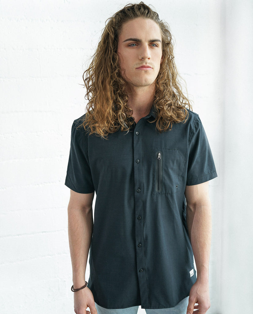 Astrneme Get Wet S/S Hydro Woven Shirt