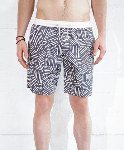 Astrneme Sticks Swimshorts Charcoal Buff