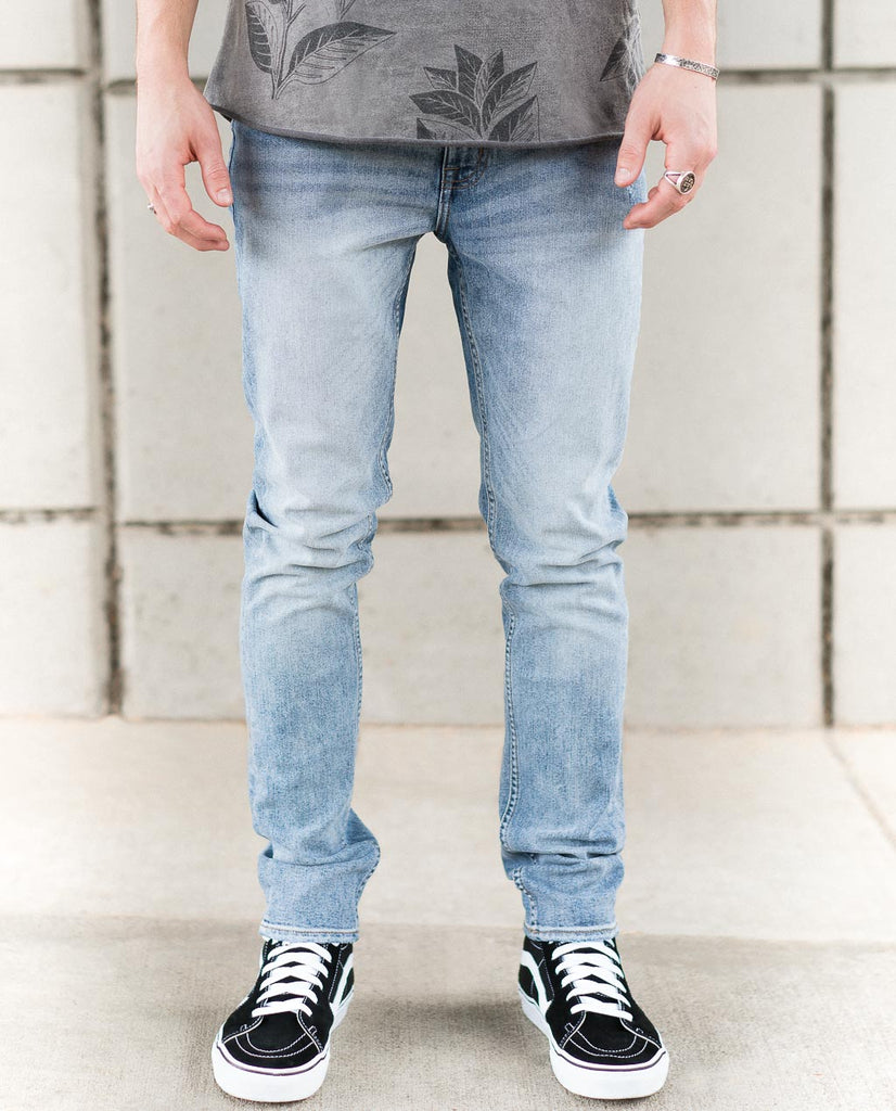Cheap Monday Sonic Treble Blue Jeans
