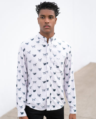 Handsome Me Cats Buttonup