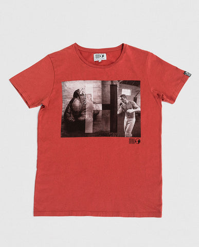 Hero Seven McQueen Graphic Tee Red