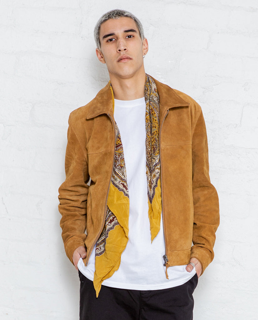 Neuw Dallas Tan Suede Jacket