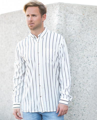 Neuw Stripe LS Buttonup Shirt