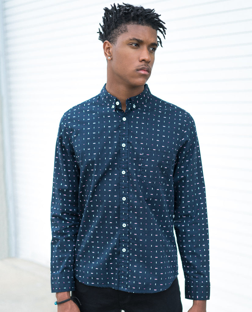 Oxford Lads Specks Buttonup