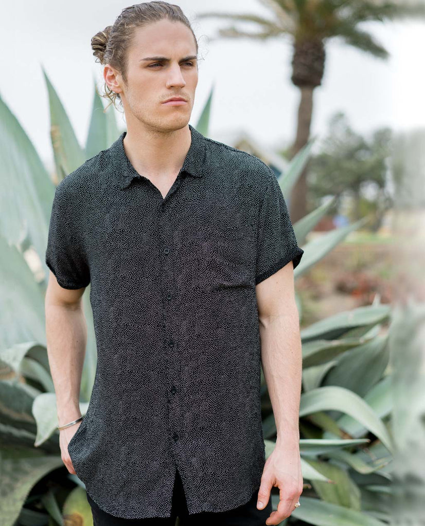 Rollas Beach Boy Shirt Dreamtime Dots