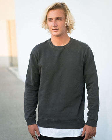 Rollas Old Mate Charcoal Sweatshirt