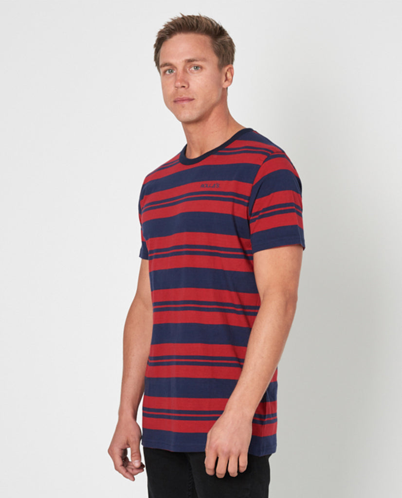 Rollas Old Mate Stripe Tee