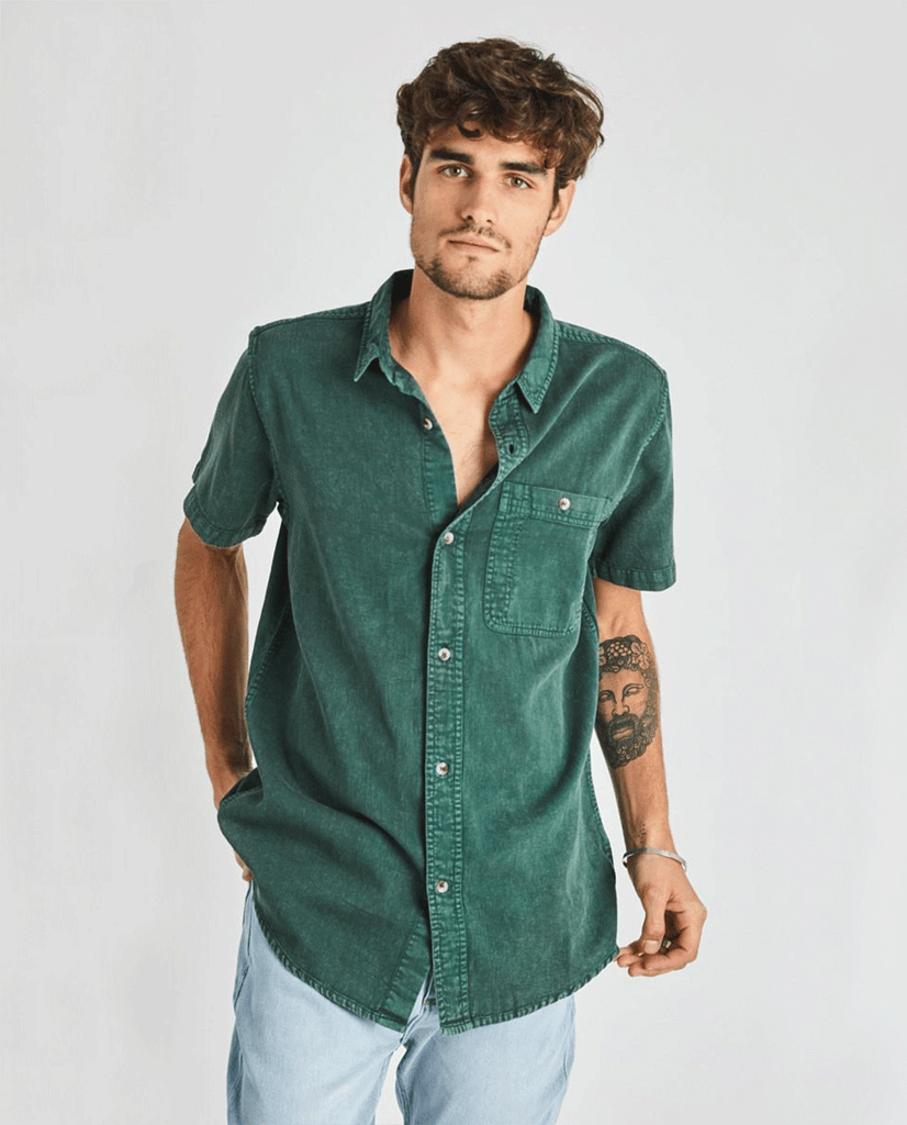 Rollas Union Bedford S/S Cord Shirt