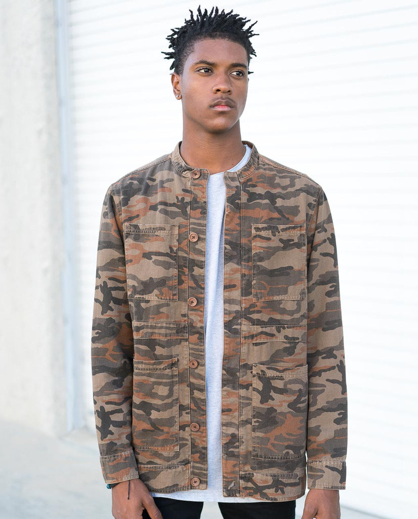 SLVDR CAMO Summit Jacket