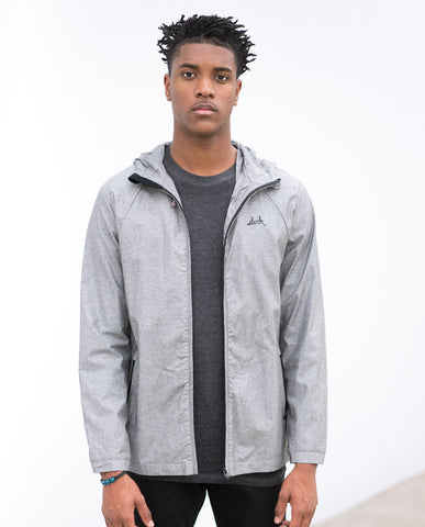 SLVDR Chambray Jacket Charcoal
