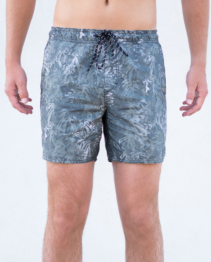 Tavik Belmont Poolshort Charcoal Palm