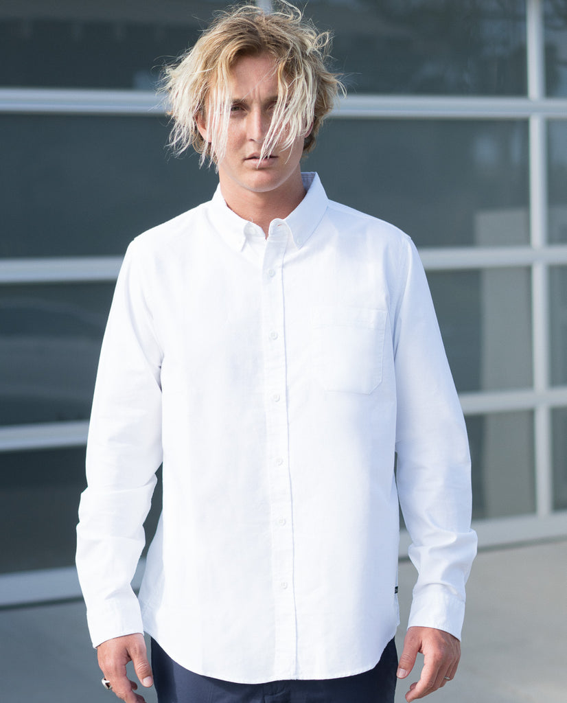 Tavik Uncle Long Sleeve Button Up Shirt