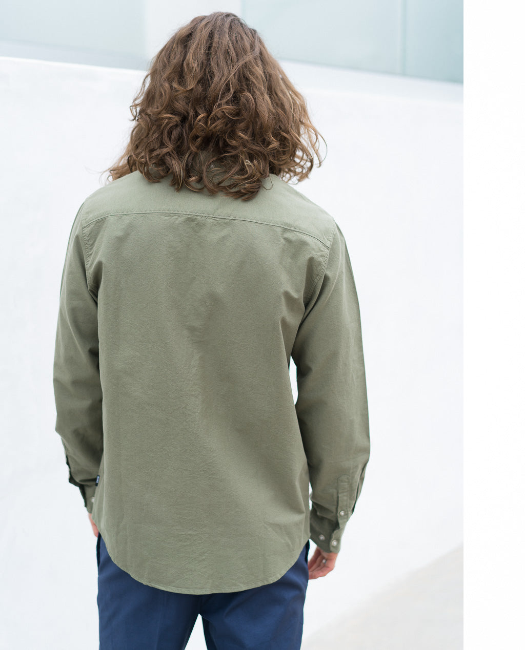6c8b68a6f77b5 Tavik Uncle Long Sleeve Button Up Shirt Olive – AAURA