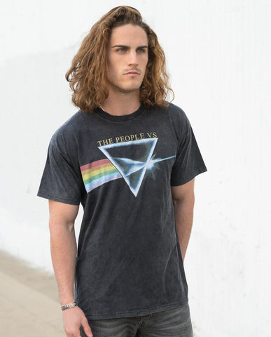 Rainbow Vintage Tee by The People Vs