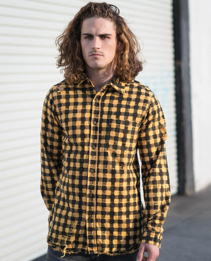 Revolt Flanno Shirt by The People Vs